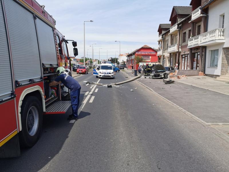 Baleset Debreceni út