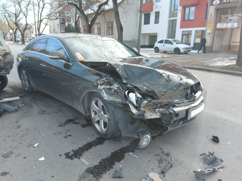 Baleset történt a Bethlen Gábor utcán szombaton délelőtt