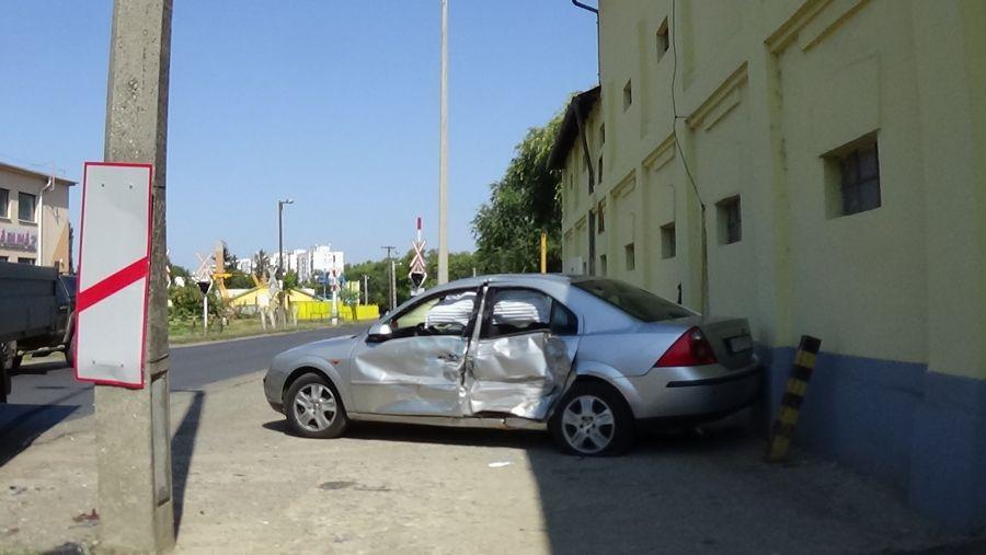 Baleset történt a Simai úton szerda kora délután