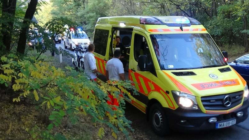 Baleset történt hétfő délután Nagykálló és Nyíregyháza között