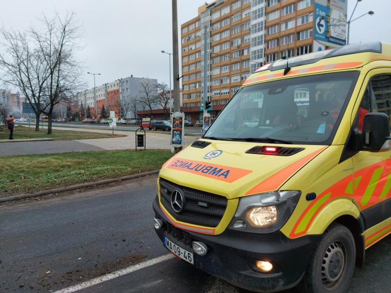 Baleset történt vasárnap délelőtt a Sóstói út - Ferenc krt. kereszteződésben