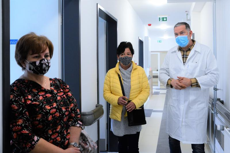 Bejárás a Tokaji úti egészségügyi centrumban
