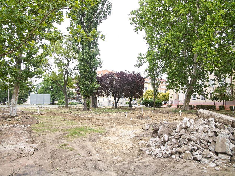 Benczúr-Bessenyi tér felújítása_2018.06.19.