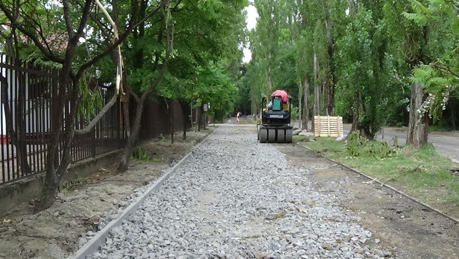 Blaha Lujza sétány felújítása