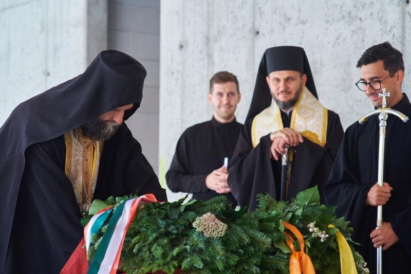 Bokrétaünnepség a görögkatolikus múzeumban