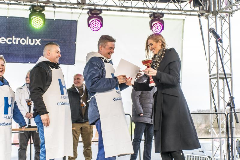 Böllérverseny eredményhírdetése
