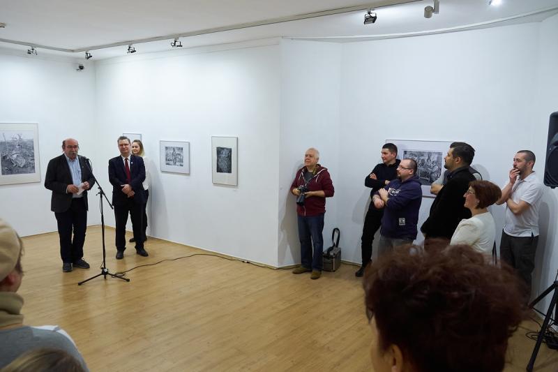 Börcsök Attila grafikusművész kiállítása