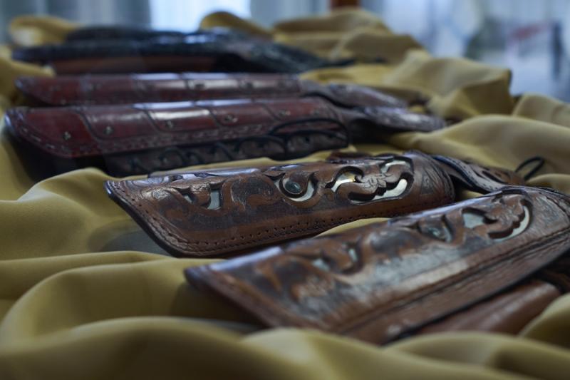 Bőrműves kiállítás a Kállay Házban