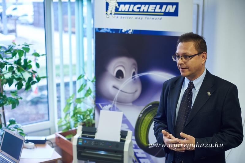 Braille nyomtató a Michelin-től