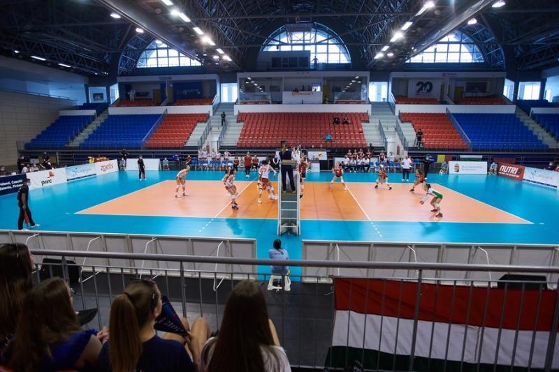CEV16 lányröpi - Magyarország - Törökország