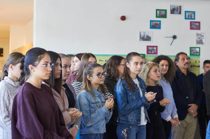 Cinkos, aki néma - kiállítás a Bethlen Gábor iskolában
