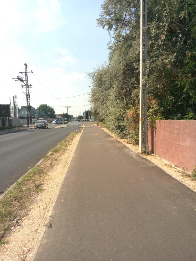Csomópont és kerékpárút fejlesztés Nyíregyházán