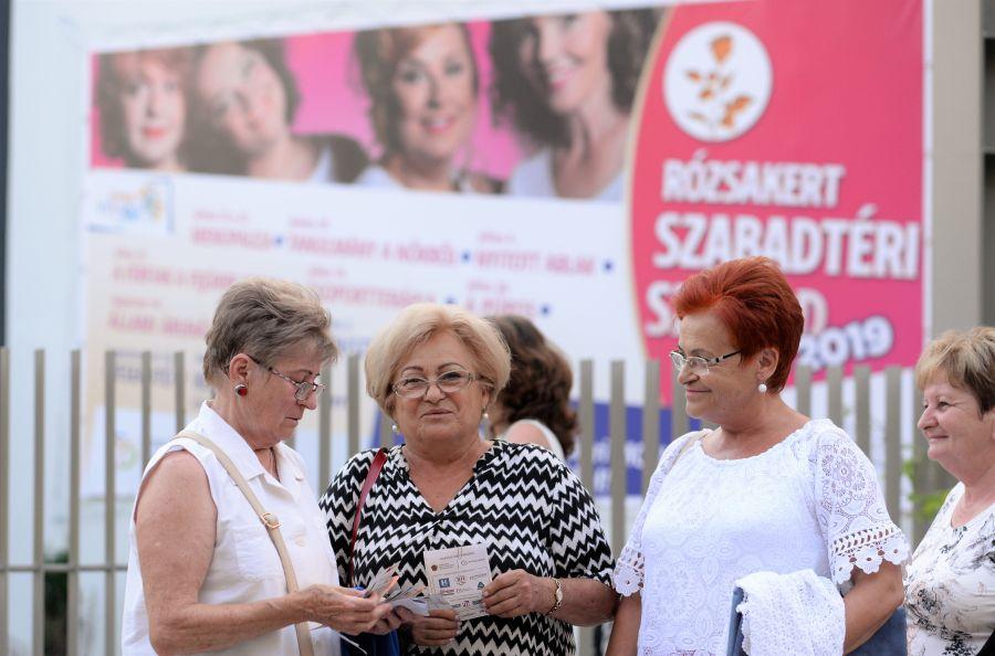 Delila premier a Rózsakert Szabatéri Színpadon