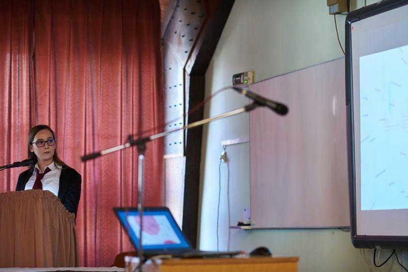 Diákkonferencia a Zay szakközépiskolában