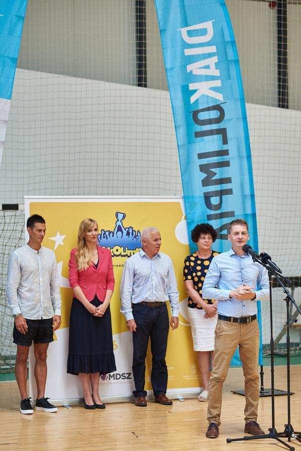 Diákolimpiai tábor megnyitó 2021