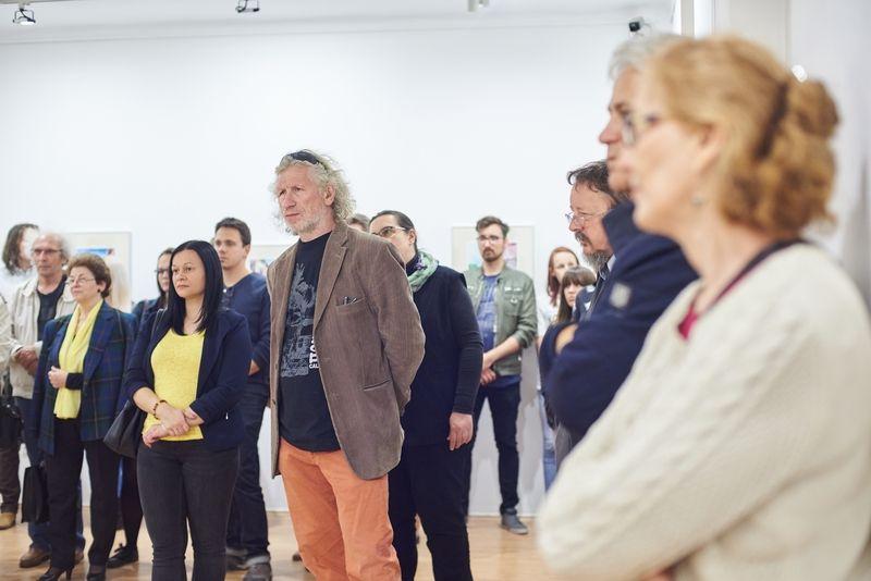 Dr. Habil Szepessy Béla kiállítás a Városi Galériában