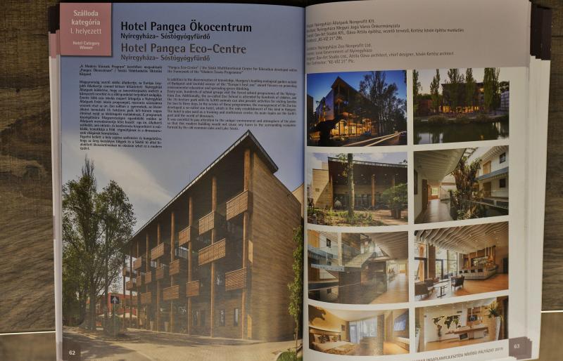 Építészeti díjat nyert a Hotel Pangea