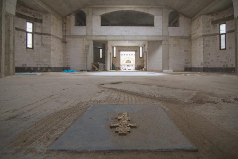 Épül a borbányai görögkatolikus templom