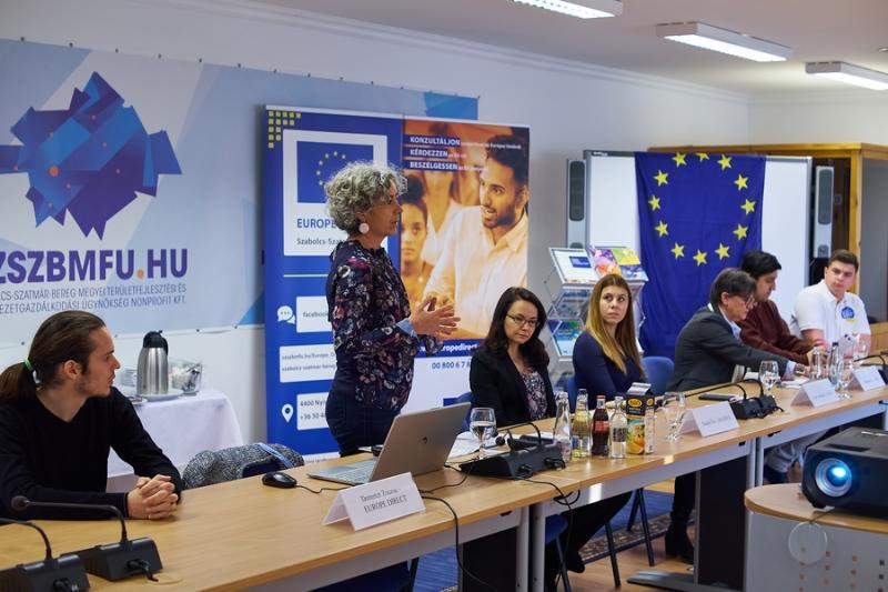 Europe Direct sajtótájékoztató 20211027