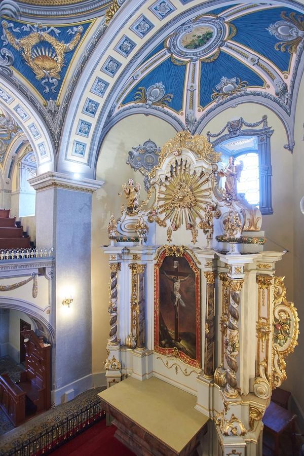 Evangélikus templom a felújítás után