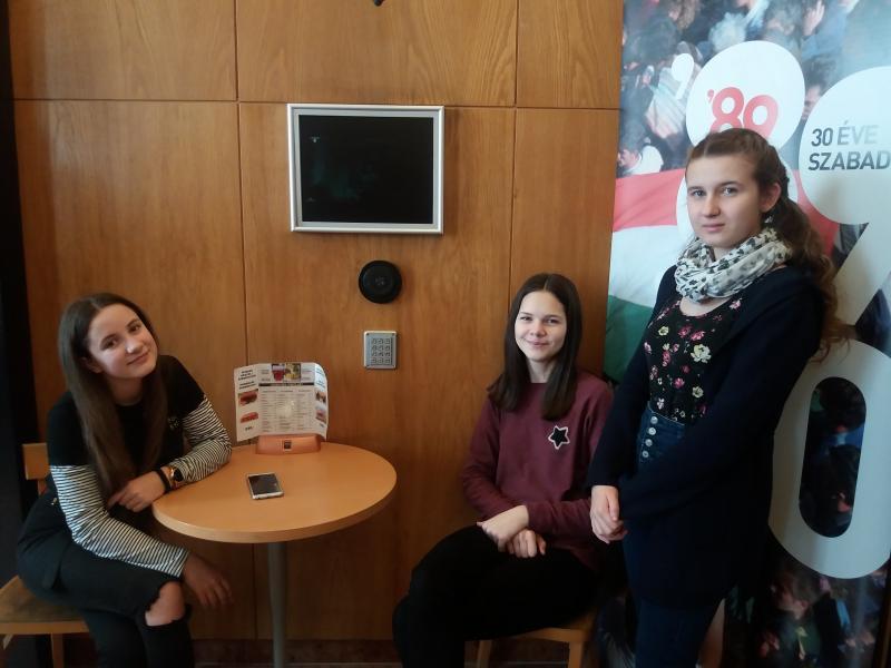 Fáraóval találkoztak Budapesten a Szent Imre gimnázium diákjai