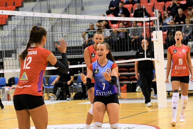 Fatum Nyíregyháza-Újpest női röplabda mérkőzés