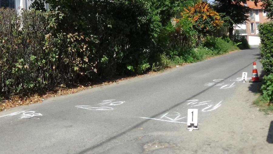 Felborult egy kerékpáros a Közép utcán