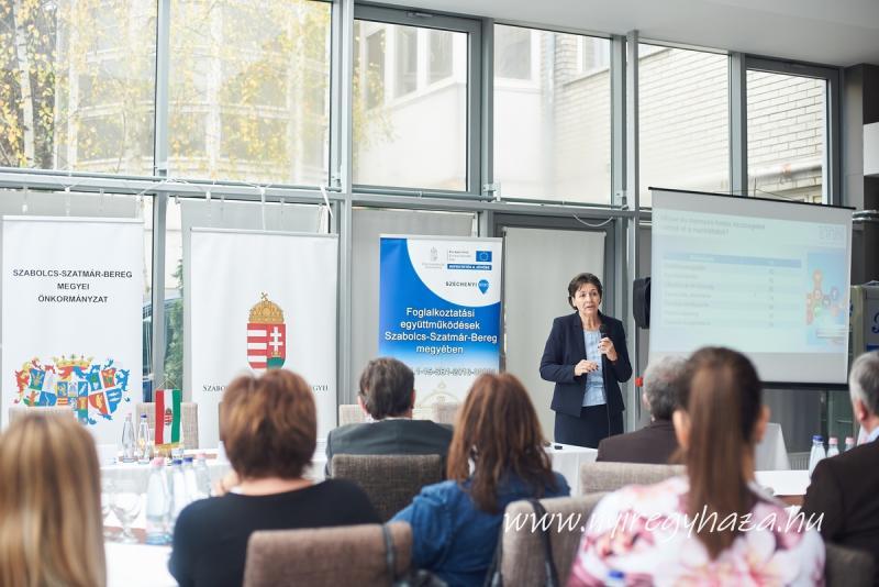 Foglalkoztatási együttműködések a megyében c. konferencia