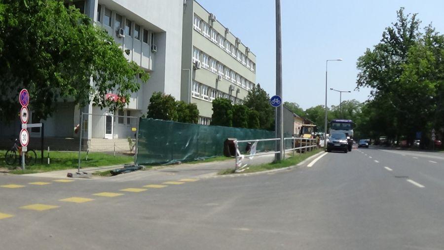Forgalomkorlátozás a Bethlen Gábor utcán, a Búza – Pacsirta és a Pacsirta – Mező utca között