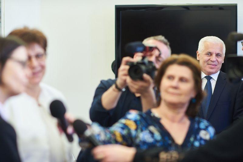Francia nagykövet a Városházán