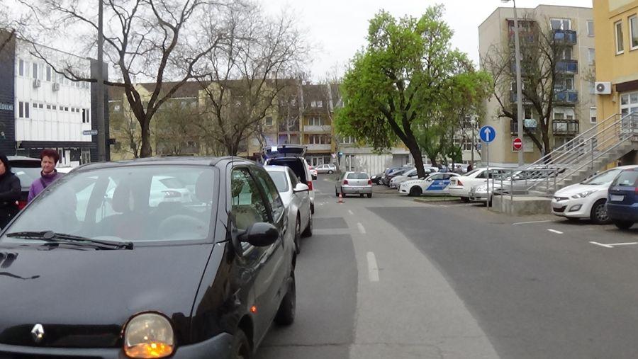 Gázolás a Dob utcán