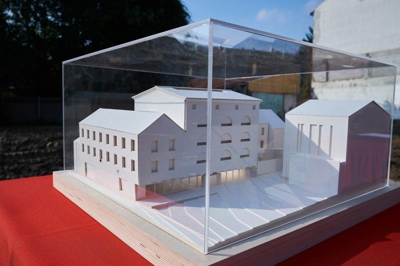 Görögkatolikus múzeum alapkőletétele