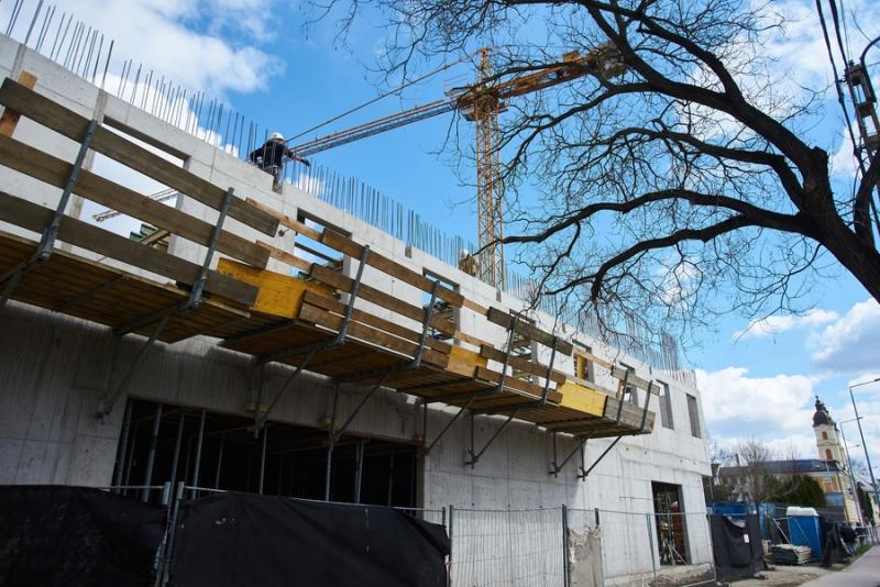 Görögkatolikus múzeum - építési munkálatok 2021 04 07