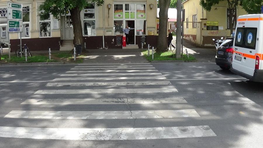 Gyalogost gázoltak a belvárosban