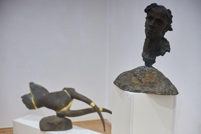 Györfi Sándor szobrászművész kiállítása