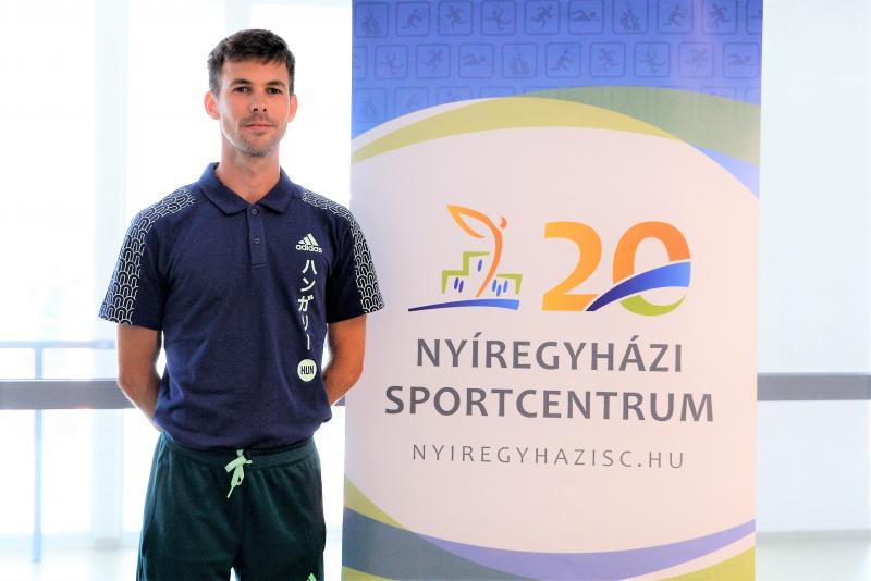 Helebrandt Máté az olimpiára indul szerdán