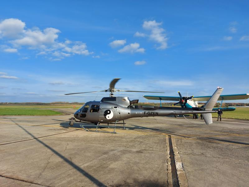 Helikopter közelről