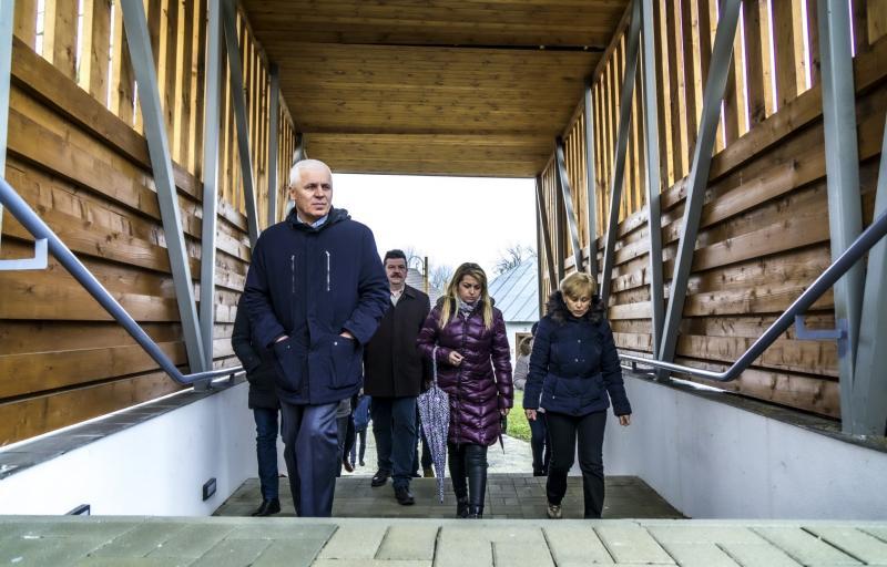 Helyszíni bejárást tartottak a Sóstói Múzeumfaluban