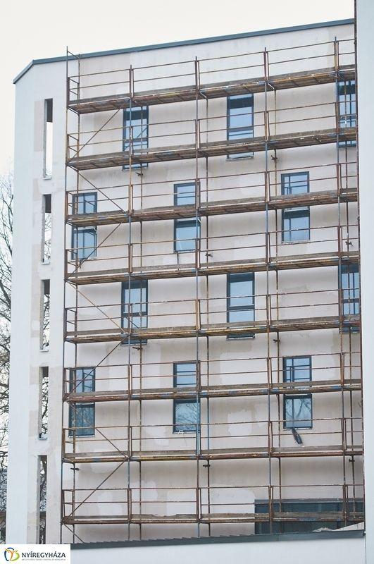 Hotel Sóstó SPA munkálatok