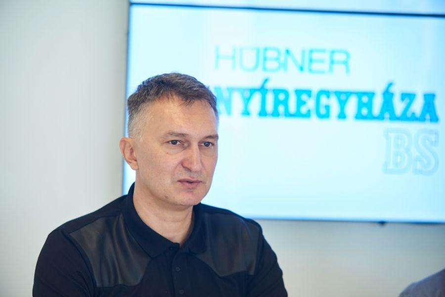 Hübner Nyíregyháza BS sajtótájékoztató