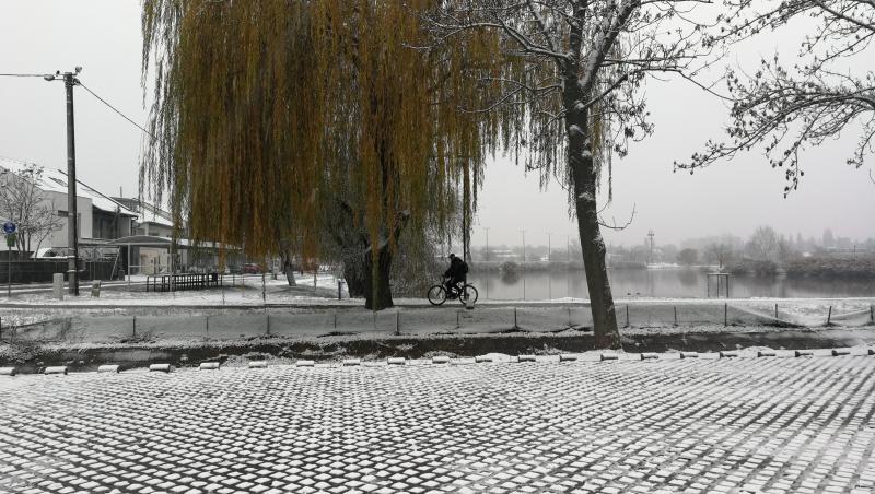 Így néz ki városunk az első hó lehullását követően – egyszerűen gyönyörű!