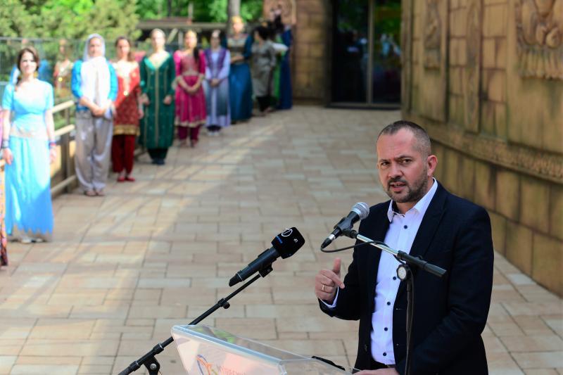 India-ház megnyitó a Nyíregyházi Állatparkban
