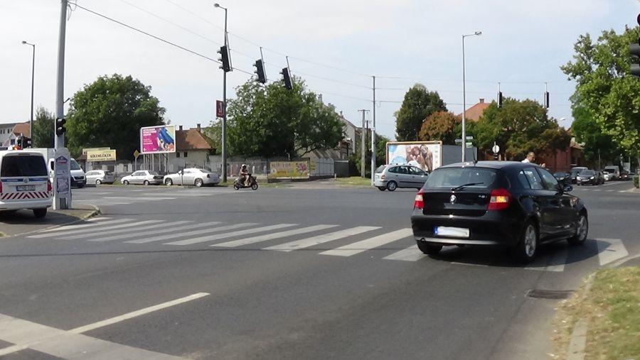Karambol az Inczédy és a Bocskai utca kereszteződésében