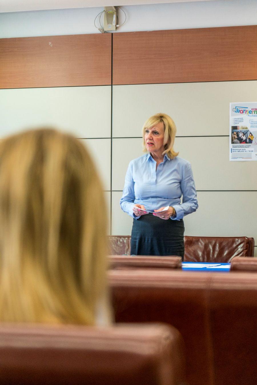 Karriernap sajtótájékoztató a Nyíregyházi Egyetemen