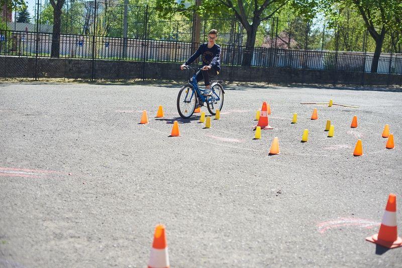 Kerékpáros Kupa a Zelk iskolában