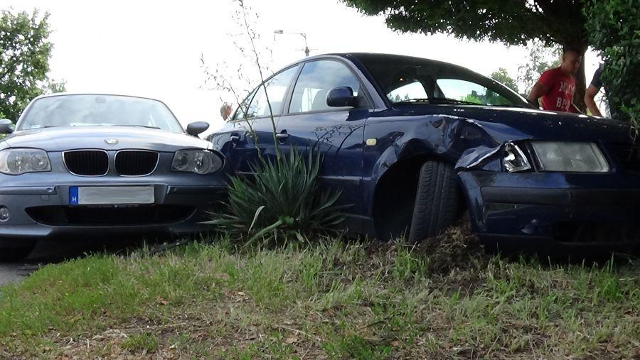Két autó ütközött a Korányi Frigyes utcán