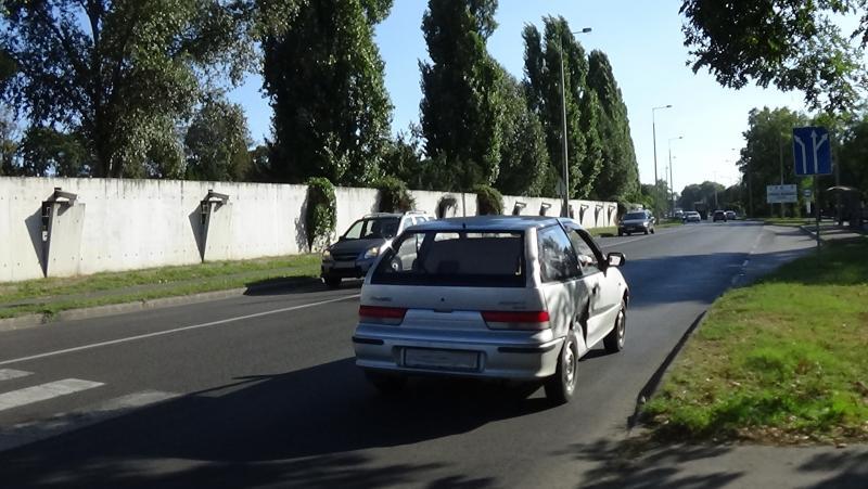 Két autó ütközött hétfő délután a Korányin
