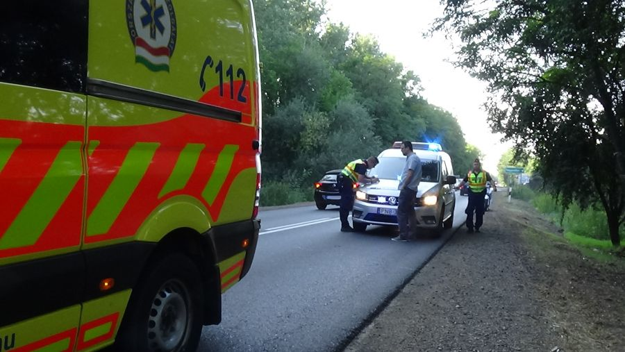 Ketten megsérültek a Nagyszállásnál történt balesetben