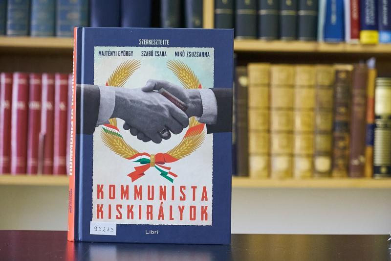 Kommunista kiskirályok - könyvbemutató a Levéltárban
