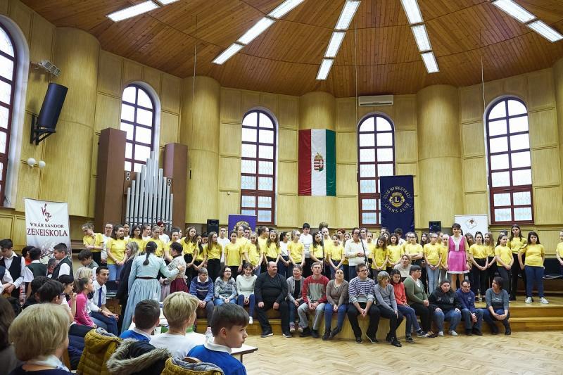 Konferencia a Vikár Sándor iskolában